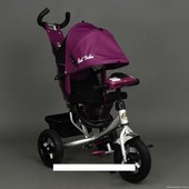 Акция! Велосипед трехколесный надувные колеса+ фара Best Trike 6588-В