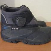 ботинки на мокрую погоду  Yeti Канада р.28