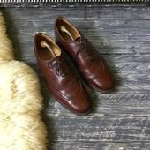 Шикарные мужские кожаные туфли-броги CountryClassic р-р 44