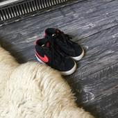 Детские замшевые кеды-кроссовки Nike р-р 5,5