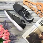 Мужские кроссовки New Look с меланжевым верхом и контрастной подошвой  SH26154
