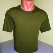 футболка мужская 100%хб. с 48 по 52 р.