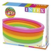 Intex 56441 168 Х 46 См. бассейн детский надувной Веселые колечки