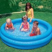 Детский надувной бассейн Intex 58426 «Синий кристалл»