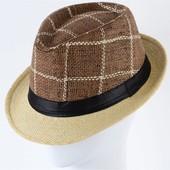 Шляпа Челентанка ( федора) унисекс 56-58