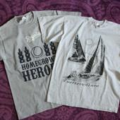Фирменные футболки, 160 грн за две штуки!