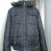 Зимня куртка батал колір хаккі