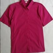 Базовая малиновая рубашка Mona ( L )