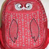 Рюкзак Kite Junior Сова школьный качественный для девочки 1-5 кл.  Реал фото!