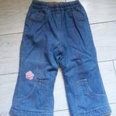 Продам очень тёплые джинсы на малышку