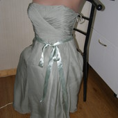 Coast платье 100% шелк. xs-s-размер