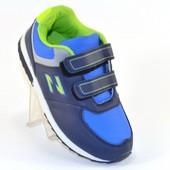 Кроссовки на липучках 3 цвета Т610
