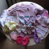 Пакет вещей на девочку 39 шт