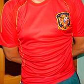 Спортивная футбольная футболка зб Испании .Торрес .м-л.