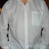 Стильная нарядная  брендовая рубашка  Angelo Litrico хл .