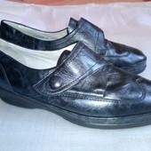 """кож. туфли """"Waldlaufer"""", размер 7.5 наш 40, 26 см по стельке. ширина 8,5 см,"""