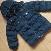 Зимняя , еврозима курточка  на 4-6 лет.