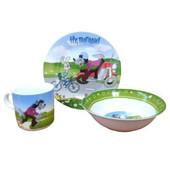 Детский набор посуды из керамики Ну погоди