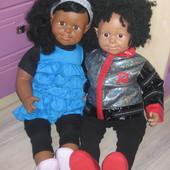 Срочно! Две по цене одной! кукла Smoby Roxanne Франция 63 см