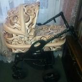 Универсальная детская коляска anmar hilux 2 в 1