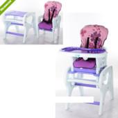 Стульчик для кормления трансформер M 0816-17, фиолетовый ***