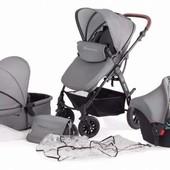 Детская коляска многофункциональная 3 в 1 KinderKraft Moov. новая c Польши.