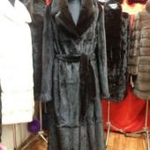 Шуба халат, мех натур. норка, длина 120-130 см, большой выбор моделей