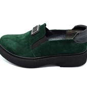 Туфли женские Paolo Collection Т-176 зеленые