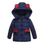 новая зимняя куртка-парка 2-3года