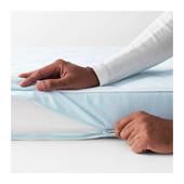 Матрас для детской кроватки, синий, 60x120 см   ikea икеа 501.501.86