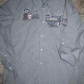 Cтильная  мужская рубашка Jean Pascal р. ХХL  оригинал