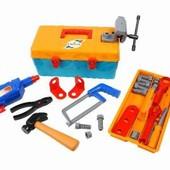 Набор инструментов Маленький столяр, в чемодане