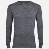 Merino wool размер L мужская термокофта из мериносовой шерсти термобелье