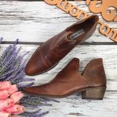 Мужские ботинки казаки Steve Madden из натуральной кожи под винтаж  SH2801