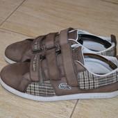 Lacoste туфли сникерсы 40.5-41р. Кроссовки. слипоны мокасины Оригинал
