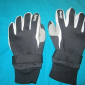 """Утепленные перчатки мужские """"Thermo"""" в нормальном состоянии (есть пятнышки), Размер 8, Уп 15грн"""