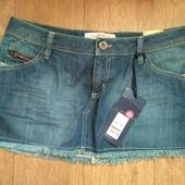 Фирменная джинсовая юбка, размер 14 42