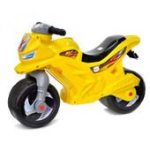 мотоцикл желтый музыкальный 501 орион