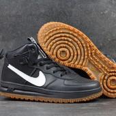 Кроссовки мужские кожа Nike Lunar Force 1 41-46р
