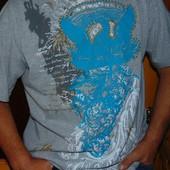 Стильная брендовая футболка оригинал Maraveli Мексика .хл-2хл .