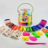 Тесто для лепки Master Do туба 22 цвета tmd-01-01 danko toys данко тойс