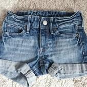джинсовые шорты девочке 6-7 лет H&M
