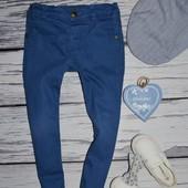 3 - 4 года 104 см Очень классные фирменные джинсы брюки модникам узкачи