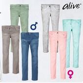 Новые джинсы на девочку фирмы Alive 128