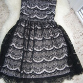 Pimkie кружевное платье S-M-размер