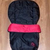 Универсальный теплый чехол конверт Red kite в коляску