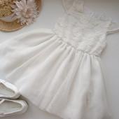 Нарядное платье кружево фатин YD 1.5-2 года