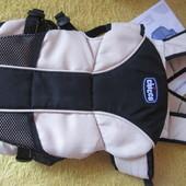 рюкзак кенгуру chicco (manhattan) 0m+ 3,5-9кг. бу, отлич. состояние , коробка+инструкция