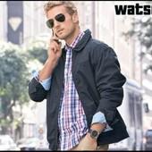 Мужская демисезонная куртка р.М Watsons цвет черный Германия