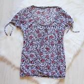 Стильная футболка для девушки. Per una. Размер 18. Состояние: отличное